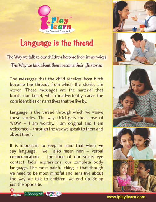 Parenting Tips_Language is the Thread