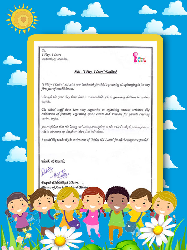 no 1 preschool  play school for kids in mumbai india