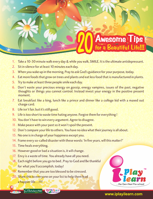 Parenting Tips_ Tips for Life