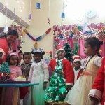 xmas celebration in inernational school