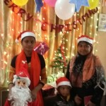 chrimas celebration in nursery