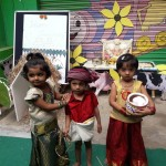 kisan day by toddler