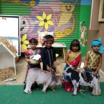 kisan day at school